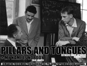 PILLARS AND TONGUES & MY NAME IS NOBODY @ AVV Arrebato  | Zaragoza | Aragón | España