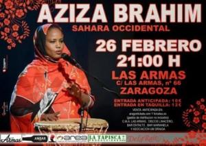 AZIZA BRAHIM @ LAS ARMAS | Zaragoza | Aragón | España