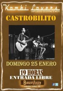 CASTROBILITO @ BURGER WAGEN | Zaragoza | Aragón | España