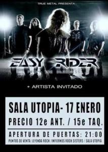 EASY RIDER + WARG @ SALA UTOPÍA | Zaragoza | Aragón | España