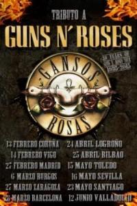 GANSOS ROSAS + RAMOÑAS @ SALA ROXY | Zaragoza | Aragón | España