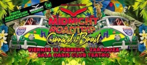 MGNFC - Midnight Roadtrip Carnaval Do Brazil @ SALA OASIS | Zaragoza | Aragón | España