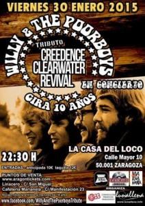 WILLY & THE POORBOYS @ LA CASA DEL LOCO   Zaragoza   Aragón   España