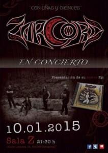 ZARCORD @ SALA ZETA | Zaragoza | Aragón | España