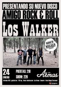 LOS WALKER @ LAS ARMAS | Zaragoza | Aragón | España