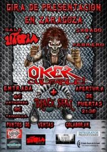 OKER + BLACK SEAL @ SALA UTOPIA | Zaragoza | Aragón | España