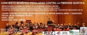 BANDA DE MUSICA DE LA ACADEMIA GENERAL MILITAR @ CENTRO CULTURAL IBERCAJA ACTUR | Zaragoza | Aragón | España