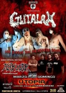 GUTALAX + ANKHAR @ SALA UTOPÍA | Zaragoza | Aragón | España