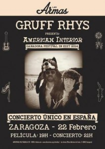 GRUFF RHYS @ LAS ARMAS | Zaragoza | Aragón | España
