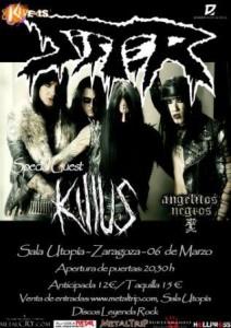SISTER + KILLUS + ANGELITOS NEGROS @ SALA UTOPÍA | Zaragoza | Aragón | España