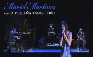 MARIEL MARTÍNEZ & LA PORTEÑA TANGO TRÍO @ Teatro de las Esquinas | Zaragoza | Aragón | España