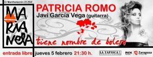 PATRICIA ROMO @ Marianela Zgz | Zaragoza | Aragón | España