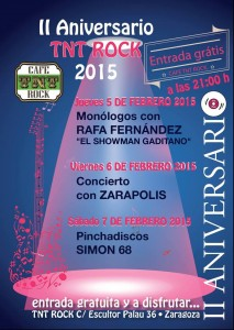 ZARAPOLIS @ Cafe Tnt Rock | Zaragoza | Aragón | España