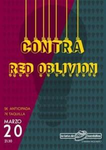 CONTRA + RED OBLIVION @ LA LATA DE BOMBILLAS  | Zaragoza | Aragón | España