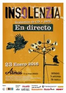 INSOLENZIA @ LAS ARMAS | Zaragoza | Aragón | España