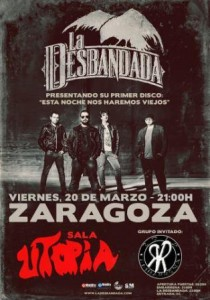 LA DESBANDADA + EMBARRENA @ SALA UTOPÍA | Zaragoza | Aragón | España