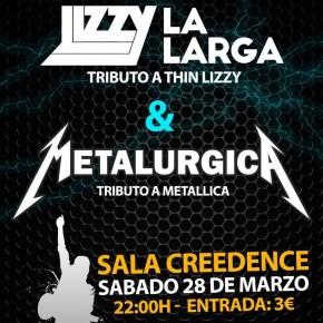 METALURGICA + LIZZY LA LARGA @ SALA CREEDENCE  | Zaragoza | Aragón | España