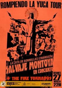 SALVAJE MONTOYA @ La Lata de Bombillas | Zaragoza | Aragón | España