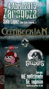 CELTIBEERIAN + SALDUIE + CACHIRULOS XL @ Sala López | Zaragoza | Aragón | España