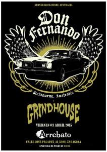 DON FERNANDO y GRINDHOUSE @ AVV Arrebato | Zaragoza | Aragón | España