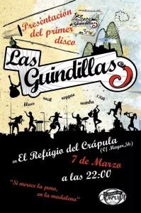 LAS GUINDILLAS @ El Refugio del Crápula  | Zaragoza | Aragón | España