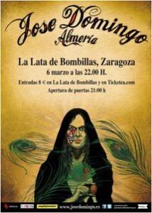 JOSÉ DOMINGO @ La Lata de Bombillas | Zaragoza | Aragón | España