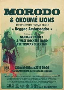 MORODO & OKOUMÉ LIONS @ Teatro de las Esquinas  | Zaragoza | Aragón | España