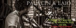 PALACIN & LAIO @ Cheer´s Tavern | Zaragoza | Aragón | España