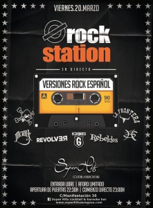 ROCK STATION @ Super Hits | Zaragoza | Aragón | España