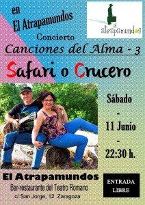 SAFARI O CRUCERO @ ATRAPAMUNDOS | Zaragoza | Aragón | España