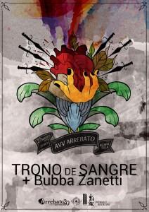 TRONO DE SANGRE + BUBBA ZANETTI @ AVV Arrebato | Zaragoza | Aragón | España