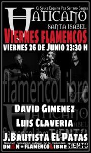 CICLO DE VIERNES FLAMENCOS @ Pub Vaticano  | Zaragoza | Aragón | España