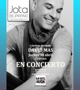 JOTA BEJARANO + DAVID MAS @ LA LEY SECA | Zaragoza | Aragón | España