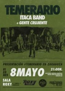 ITACA BAND + GENTE CRUJIENTE @ SALA ROXY | Zaragoza | Aragón | España