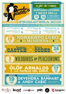 DEVENDRA BANHART & ANDY CABIC @ CENTRO CÍVICO DELÍCIAS | Zaragoza | Aragón | España