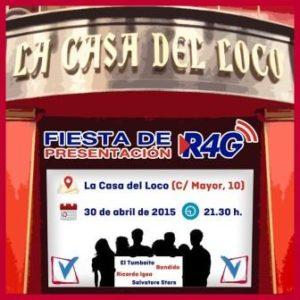 FIESTA RADIO 4G @ LA CASA DEL LOCO | Zaragoza | Aragón | España