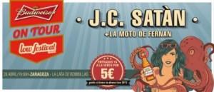 J.C.SATÀN + LA MOTO DE FERNAN @ LA LATA DE BOMBILLAS | Zaragoza | Aragón | España
