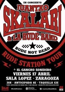 JUANTXO SKALARI & THE RUDE BAND @ Sala López | Zaragoza | Aragón | España