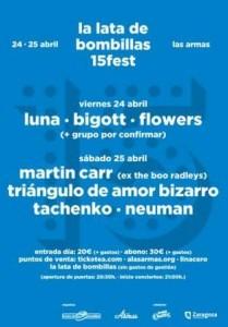 LA LATA DE BOMBILLAS 15 FEST @ Centro Musical y Artístico Las Armas | Zaragoza | Aragón | España