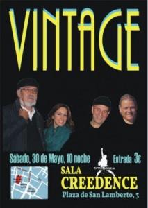 VINTAGE @ SALA CREEDENCE | Zaragoza | Aragón | España