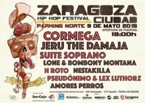 ZARAGOZA CIUDAD HIP HOP FESTIVAL 2015 @ PARKING NORTE EXPO | Zaragoza | Aragón | España