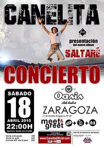 CANELITA @ Oasis Club Teatro | Zaragoza | Aragón | España