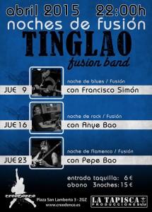 TINGLAO FUSION BAND + ARTISTA INVITADO @ Creedence | Zaragoza | Aragón | España