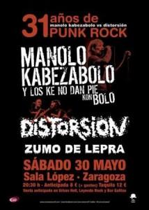MANOLO KABEZABOLO Y LOS KE NO DAN PIE KON BOLO @ SALA LOPEZ | Zaragoza | Aragón | España