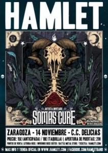 HAMLET + SOMAS CURE @ CENTRO CÍVICO VALDEFIERRO | Zaragoza | Aragón | España