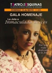 Homenaje a Inmaculada Bescós @ TEATRO DE LAS ESQUINAS | Zaragoza | Aragón | España