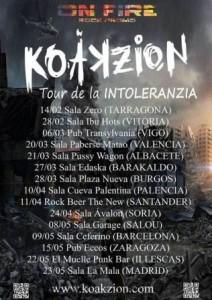 KOAKZION @ SALA ZETA | Zaragoza | Aragón | España
