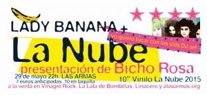 LA NUBE + LADY BANANA @ Las Armas | Zaragoza | Aragón | España