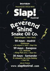 REVEREND SHINE SNAKE OIL CO + KING PUG @ Centro Civico Delicias