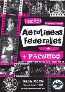 AEROLINEAS FEDERALES + FACUNDO @ SALA ROXY   Zaragoza   Aragón   España